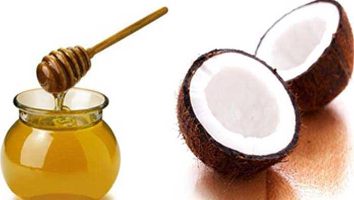 sự kết hợp giữa dầu dừa và mật ong